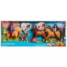 NEW Dreamworks Spirit Riding Free PASTURE PALS 12 Pc Horse, Doll, Accessory Set