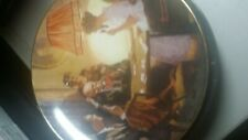 Norman Rockwell This is the Room that Made Light Campaign Series Plate dab