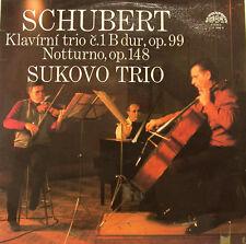 "SCHUBERT KLAVIRNI TRIO C.1 NOTTURNO SUKOVO TRIO 12"" LP (h701)"