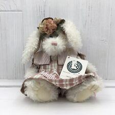 Boyd's Bears Mitzie Mae Spring White Rabbit Plush Doll #94258Kr
