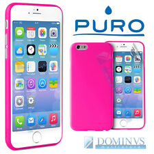"Puro Cover Ultra Slim 0.3 x iPhone 6 4.7"" Custodia Rosa Trasparente + Pellicola"