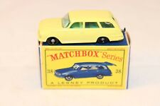 Matchbox Lesney 38b Vauxhall Victor near mint in box all original condition