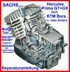 Hercules GT 5 - Sachs Motor 506-3B deutsch Reparatur