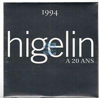 HIGELIN a 20 ans CD ALBUM PROMO neuf