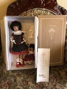 "HELEN KISH 2012 Chrysalis Doll Set SUCHIN & SASHA W/ COA 12"" & 6"" BJD DOLLS LE"