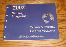 2002 Ford Crown Victoria Mercury Grand Marquis Wiring Diagrams Manual 02