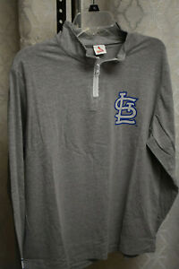 St Louis Cardinals Theme Night St. Louis Bilikens Long Slev Pullover, Size Large