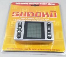 HAND HELD ELECTRONIC SUDOKU SELF SETTING FOR EXPERT PLAYER 5 DIFFICULTY LEVELS