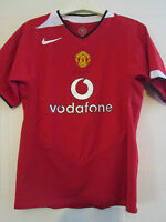 Manchester United 2004-2006 Home Football Shirt Size 152-158cm childrens /39333