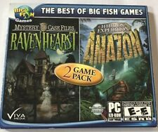 NEW- Mystery Case Files Ravenhearst & Hidden Expedition Amazon PC Games  Windows