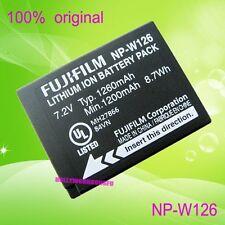Genuine Original Fujifilm NP-W126 Battery for FinePix HS30EXR X-Pro1 BC-W126