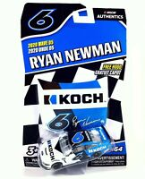 Ryan Newman #6 NASCAR Authentics Koch 2020 Wave 5 1/64 Die-Cast
