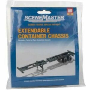 Walthers 949-4105 - Extendable Container Chassis    - HO Scale