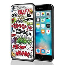 Comic Book Words For Iphone 7 Case Cover By Atomic Market
