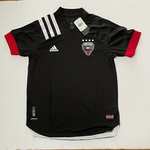 NWT Adidas MLS DC United 20/21 Authentic Home Jersey EH8688 Men's Size L Black