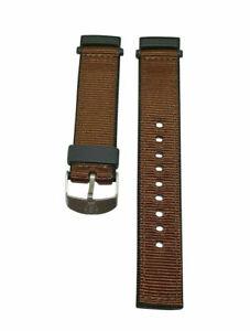 Timex Nylon Marron Bracelet Montre Pour T45181, T41341, T84601 Timex Montres