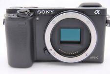 Sony Alpha a6000 24.3MP Digital Camera - Black (Body Only) - Shutter Count: 7980