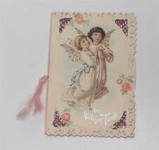 Erinnerung an Taufe, geprägte lithographiert Karte 1906 Luxuspapier, Engel #E372