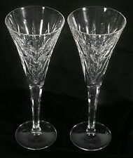 WATERFORD CRYSTAL GLASSES, SET OF 2, STAMPED AT EACH BASS