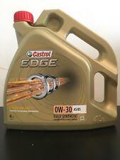 Castrol Edge TITANIUM 0W-30 FST A5/B5 Engine Oil 0w30 4 Litres 4L