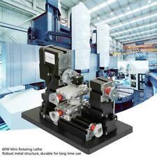 60W Mini Rotating Lathe 12000RPM Motor Kit for Metal Glass Machining 12VDC /5A