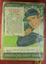 1955 Red Man RAY BOONE #1 still in package with box baseball card  RARE