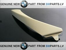 NEW GENUINE BMW 3SER E90 E91 INTERIOR HANDLE PULL CLASP TRIM BEIGE LEFT 9150339
