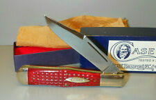 CASE XX CLASSIC Red Coke Bottle Large Hunter Corn Cob Bone Pocket Knife Box 1990