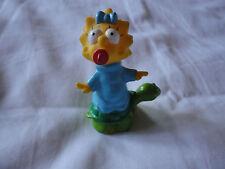 Maggie on un Turtle. The Simpsons. Burger 1990. giocattolo King Campeggio set. RARE