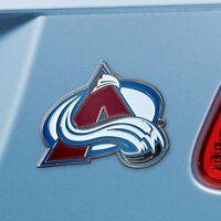 Colorado Avalanche Heavy Duty Metal 3-D Color Auto Emblem
