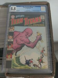 Brave and the Bold #60 CGC 5.5 1965 2nd app. Teen Titans... 1st Wonder Girl
