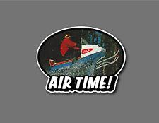 SNOWMOBILE Custom Decal Vintage retro AIR TIME cool!