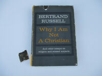 Why I Am Not A Christian by Bertrand Russell 1st Printing Philosophy Vintage '57