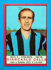 CALCIATORI PANINI 1967-68-Figurina-Sticker - CELLA - ATALANTA - Recuperata