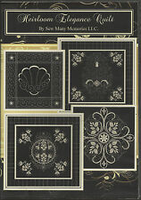 HEIRLOOM ELEGANCE QUILT EMBROIDERY COLL. FOR HUSQVARNA VIKING & OTHER MACHINES