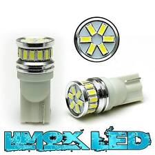 2 LED Standlicht Xenon Weiss Canbus T10 w5w 20 x 3104 12V Auto KFZ MB Seat