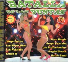 Jorge Gomez Los Silver Star Grupo H Batalla De Las Puntas Vol 1  CD New Sealed
