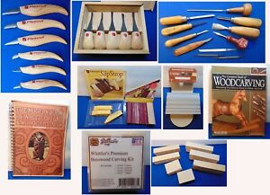 Big Lot of FlexCut Knives & Gouges for Carving Woodworking Whittling Flex Cut +