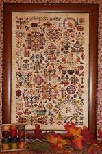 AUTUMN QUAKERS CROSS STITCH CHART AND VALDANI THREADS  PREORDER* ROSEWOOD MANOR