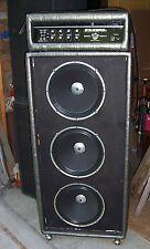 Plush Royal Bass 1060S Silver tube amplifier head Very clean amp original