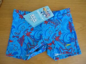 Boys Speedo Sea Squad Swimming Trunks / Shorts 1 2 3 4 5 years BNWT FREEPOST