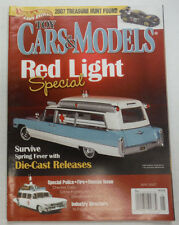 Toy Cars & Models Magazine Red Light Special Die-Cast May 2007 051615R