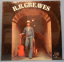 R.B. GREAVES SELF BB3333 VINYL LP 1977 ORIGINAL PRESS SOUL FUNK SEALED! MINT!