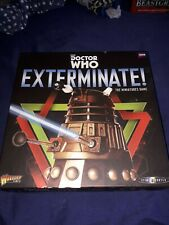 Docter Who Exterminate miniatures game and extras