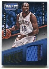 2014-15 Panini Threads Authentic Threads Prime 10 Kevin Durant Patch 2/3