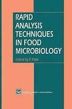 Rapid Analysis Techniques in Food Microbiology, , Used; Good Book