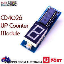 CD4026 Up Count- 1 Digit Up Counter Module + Australia stock