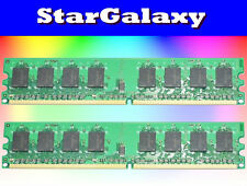 4GB 2X 2GB Kit DDR2 PC6400 LOW DENSITY PC2-6400 800MHz Desktop Memory 240Pin New