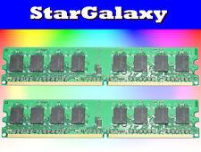 4GB 2X 2GB Kit DDR2 PC5300 LOW DENSITY PC2-5300 667MHz Desktop Memory 240Pin New