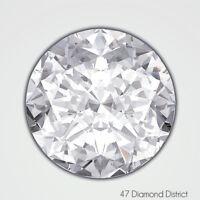 1.50ct. H-VS1 V.Good Cut Round Brilliant AGI Certified Diamond 7.18x7.24x4.62mm